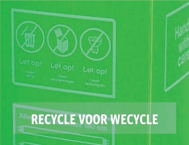 Daka - Recycle voor Wecycle