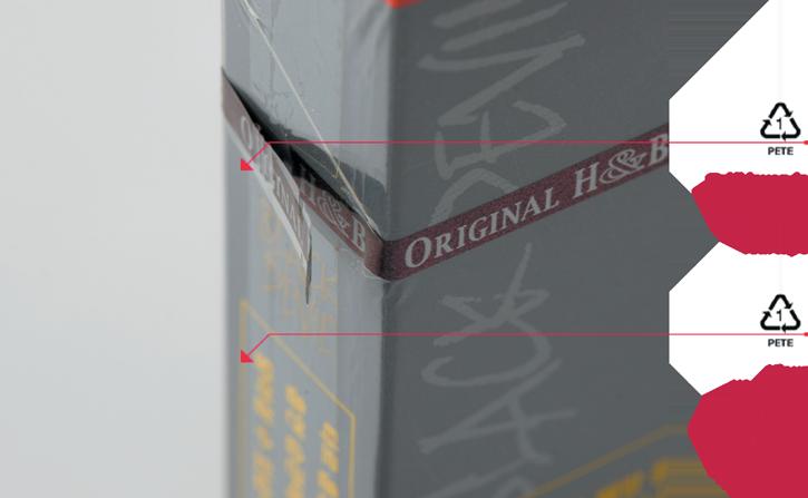 Daka Innovaties - Hightech beveiliging voor sigarettenpakjes - Zelfklevende Teartape